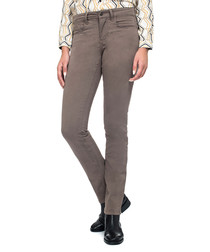 Samantha slim grey cotton blend jeans