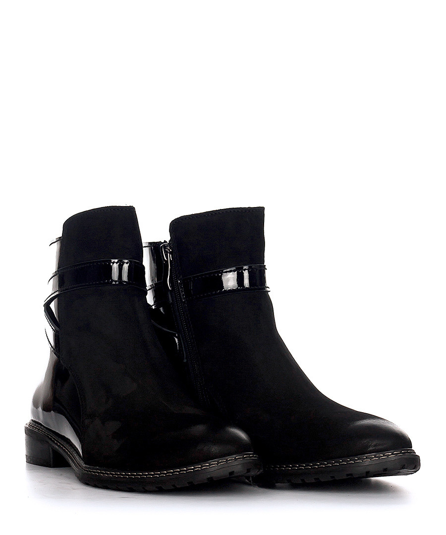 Discount Black Patent Leather Ankle Boots Secretsales