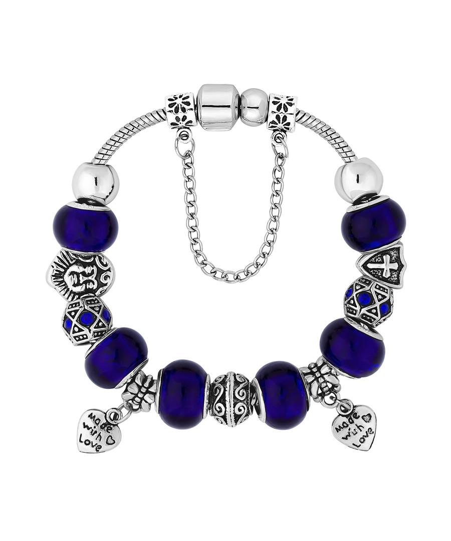 Ava blue Swarovski crystal bracelet Sale - diamond style