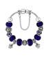 Ava blue Swarovski crystal bracelet Sale - diamond style Sale