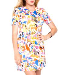 Saturday Night multi-coloured dress