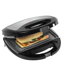 Black & silver 3in1 sandwich toaster