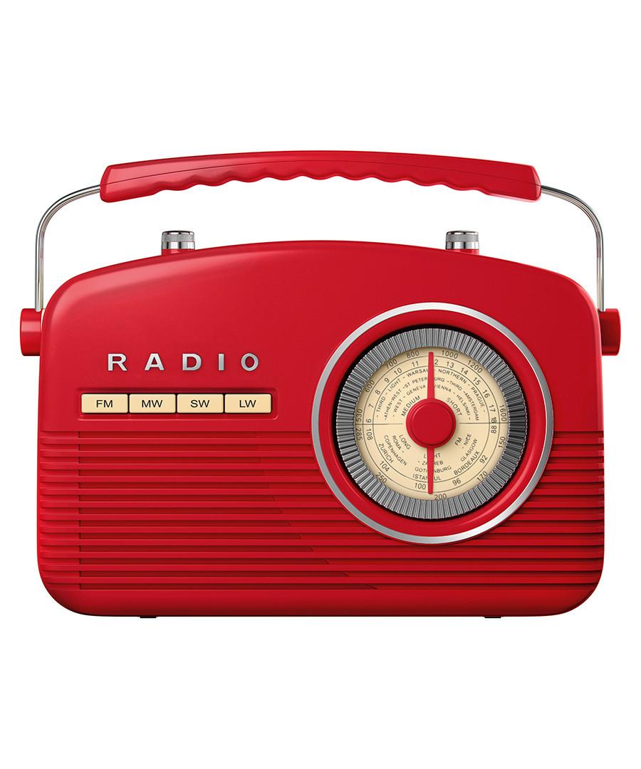 Red retro radio Sale - Akai