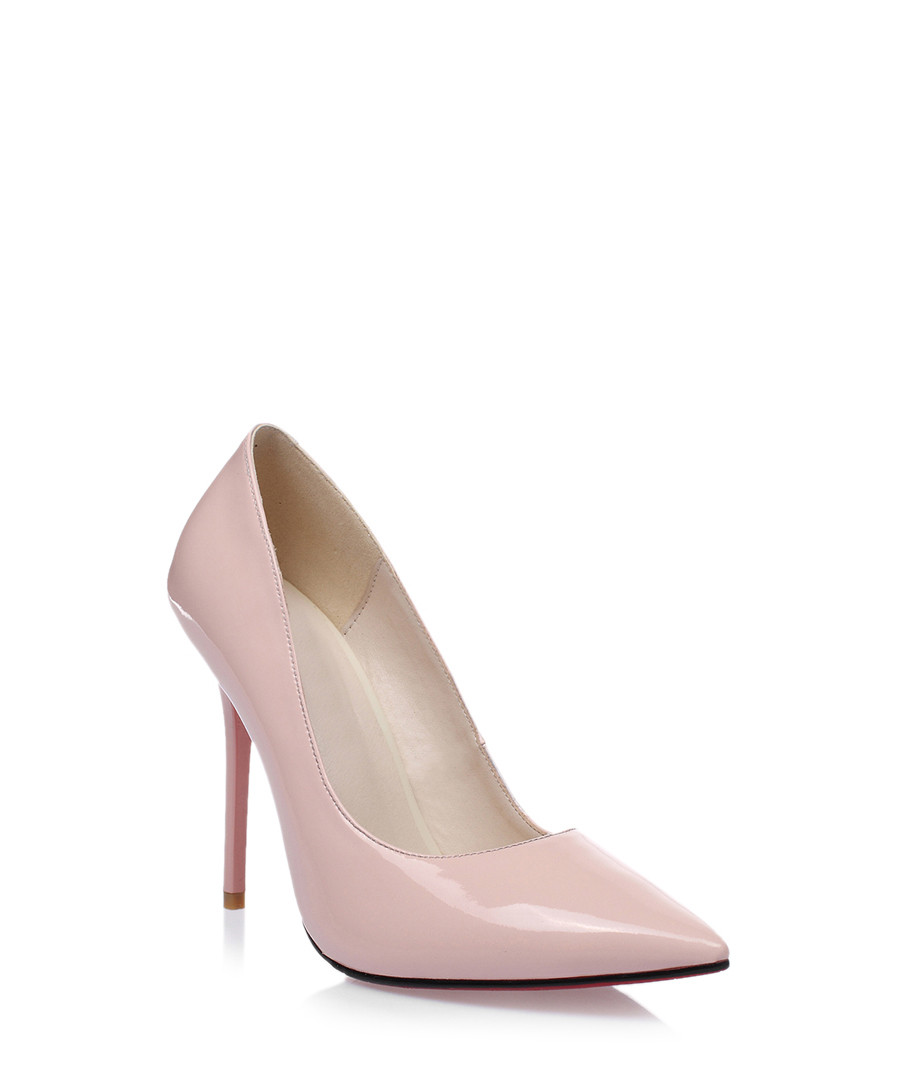 462aabe04a07 ... Pink patent leather court heels Sale - Jady Rose