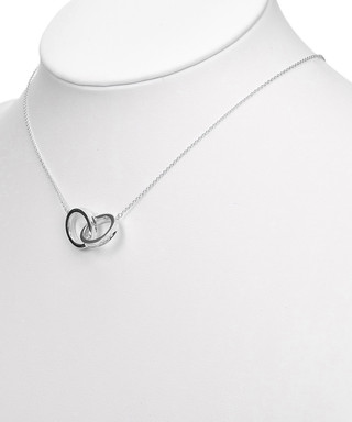 9f3f0977f Interlocking Circles silver necklace Sale - Vintage Tiffany Sale