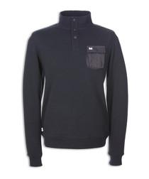 Riverside black cotton sweatshirt