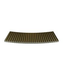 Jane brown aluminium tray