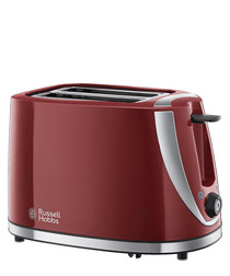 Mode maroon 2-slice toaster