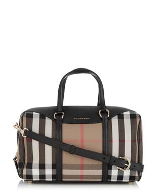 Alchester medium black cotton grab bag Sale - Burberry Sale 35d054a56df27