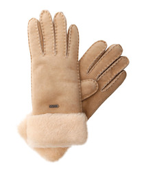 Penneshaw chestnut sheepskin gloves