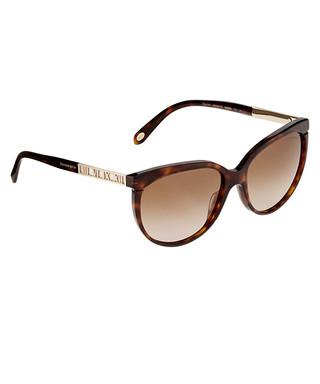 15a35417fb Brown tortoiseshell butterfly sunglasses Sale - Tiffany   Co Sale