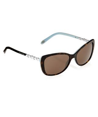 b0afe74356 Dark tortoiseshell   blue sunglasses Sale - Tiffany   Co Sale