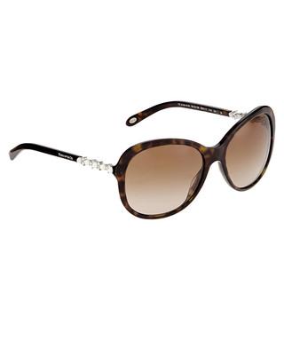 3230d182aa1 Brown tortoiseshell round sunglasses Sale - Tiffany   Co Sale