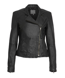 Kendyll black leather jacket