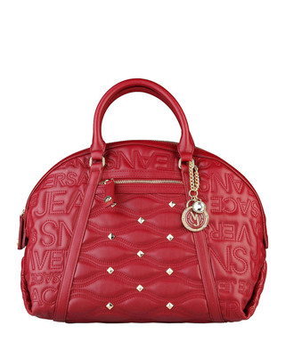 Red quilted   studded grab bag Sale - Versace Jeans Sale d5a921f65d9b1