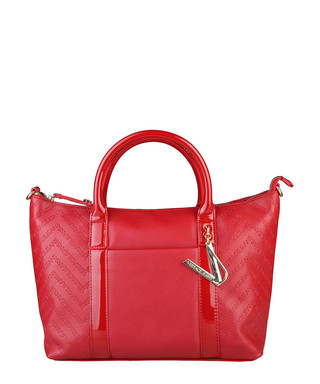 Red embossed logo grab bag Sale - Versace Jeans Sale 9d47d9cfd5484