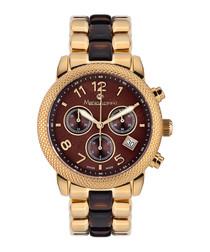 Damenuhr Shérézade gold-tone watch