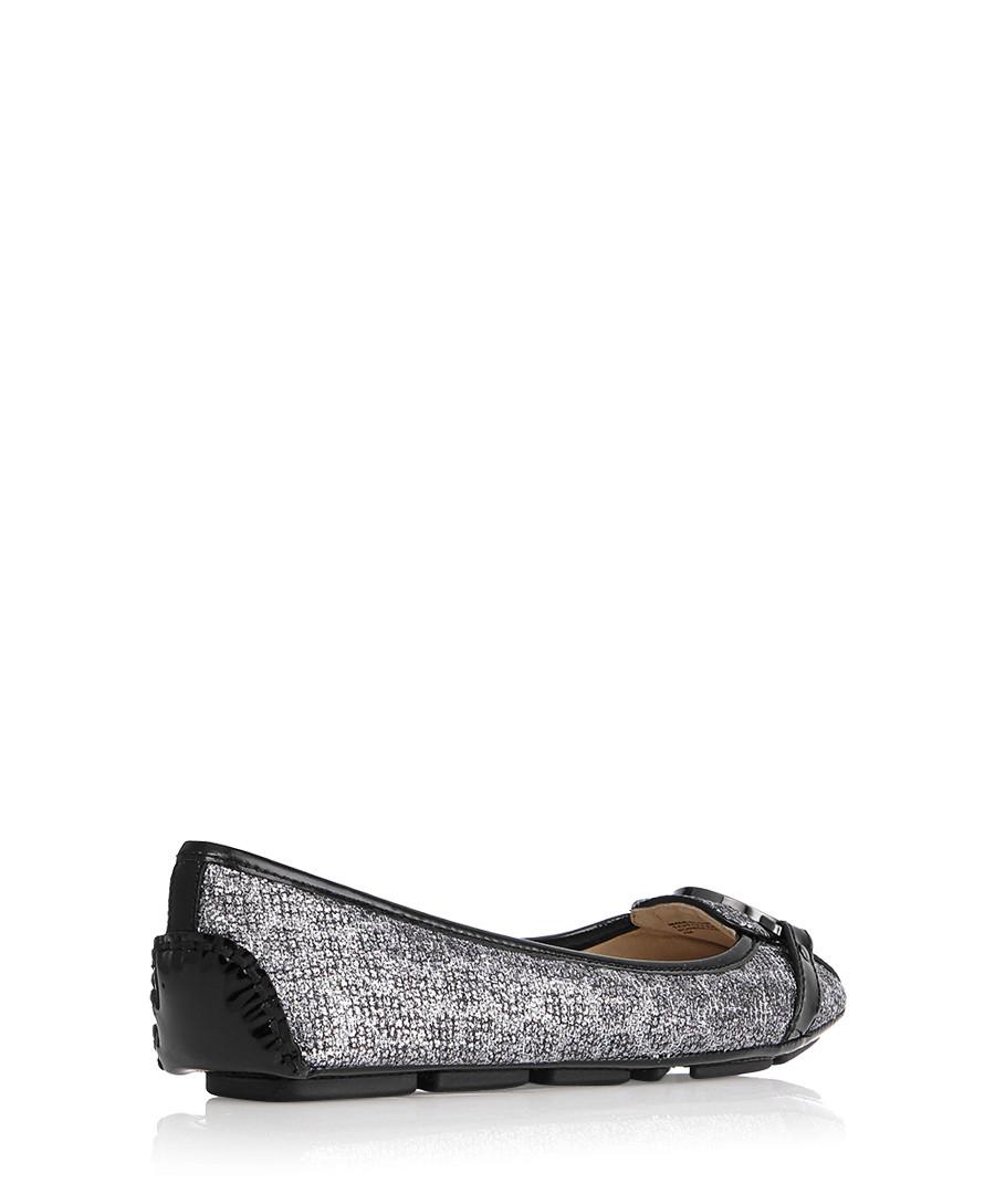 08188b8551c5 ... Glitter cheetah black ballerina flats Sale - Michael Kors ...