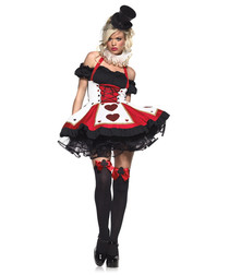 Pretty Playing Card outfit