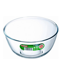 Image of Clear glass bowl 2L