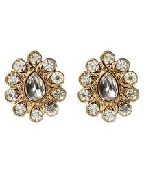 Gayatri gold-tone earrings