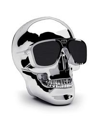 AeroSkull XS+ silver Bluetooth speaker