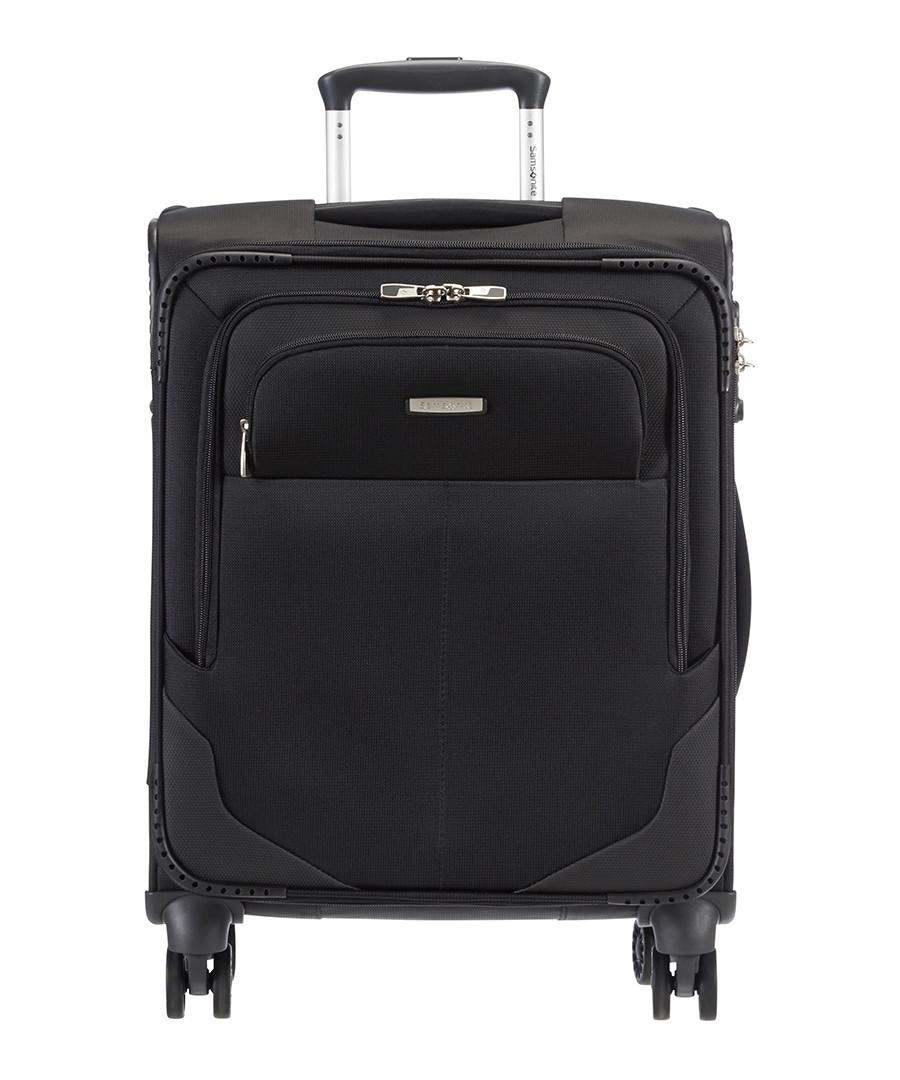 samsonite ultracore black spinner suitcase 55cm designer accessories sale samsonite luggage. Black Bedroom Furniture Sets. Home Design Ideas