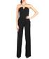 Black strapless peplum jumpsuit Sale - CARLA BY ROZARANCIO Sale