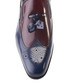 Navy & oxblood leather tassel loafers Sale - s baker Sale