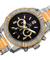 Silver-tone crystal embellished watch Sale - Joshua & Sons Sale