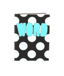 Image of Soft matte black notebook
