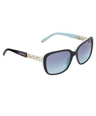 a76aefe8ba Blue   black crystal square sunglasses Sale - Tiffany   Co Sale