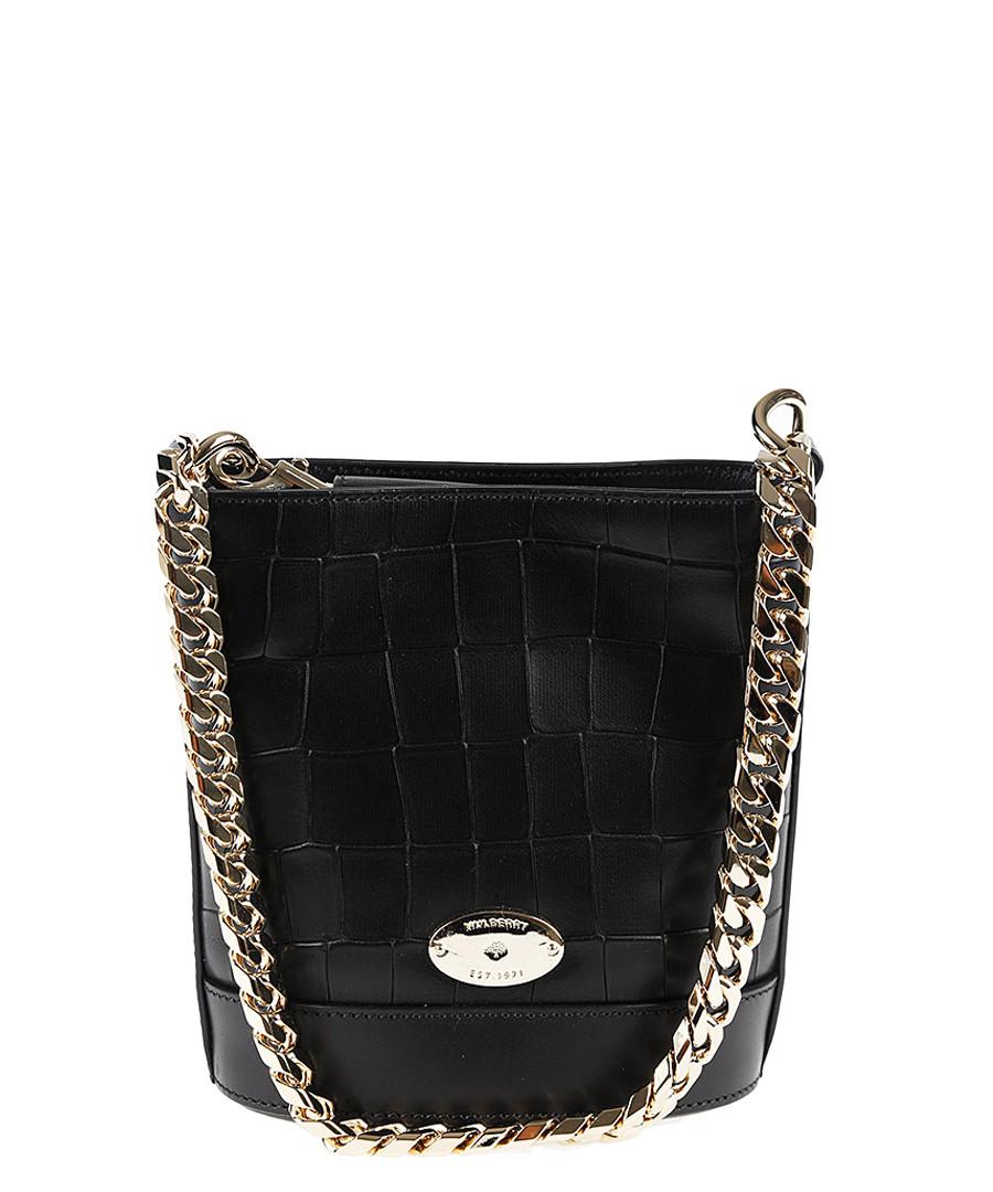 c11251285c Mini Jamie black leather shoulder bag Sale - Mulberry ...