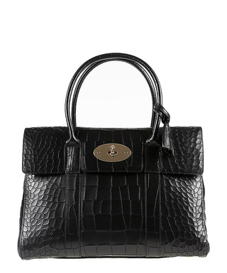 4e22ba580027 Bayswater black croc leather grab bag Sale - Mulberry Sale