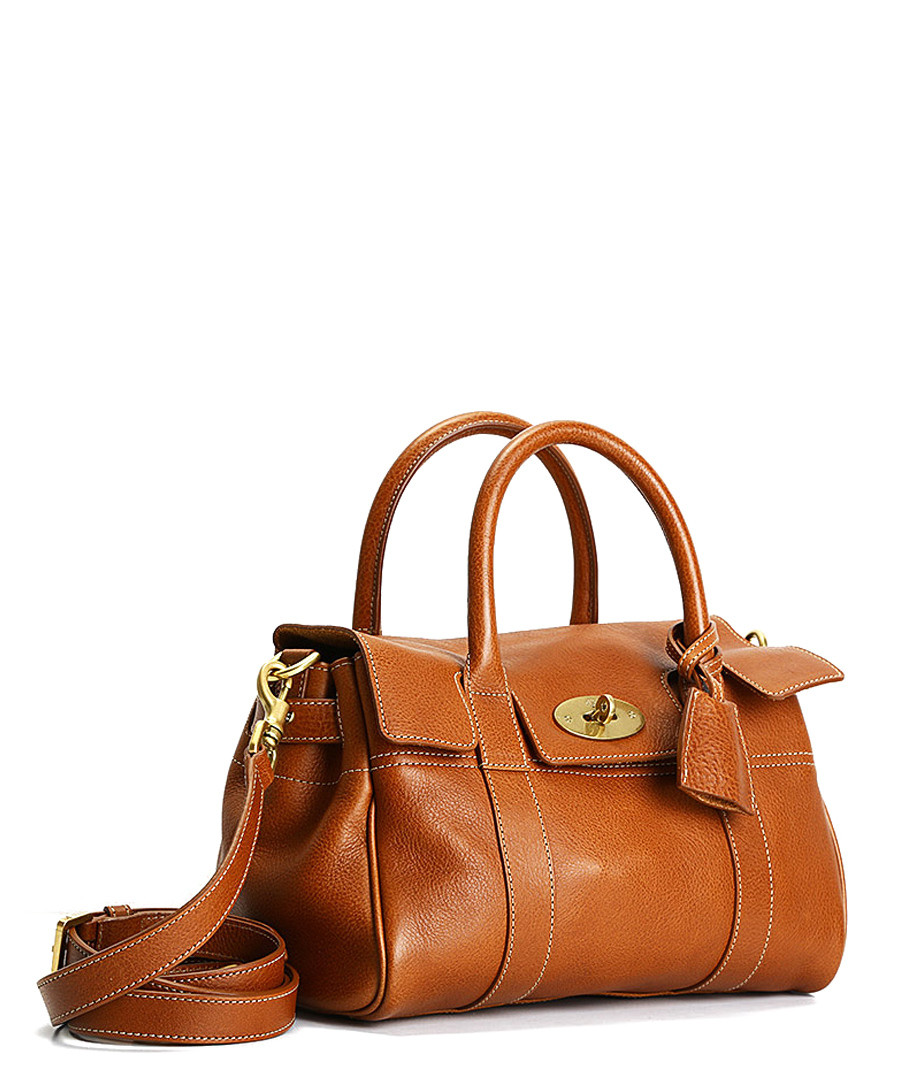 16b22cd82400 ... Small Bayswater oak leather grab bag Sale - Mulberry ...