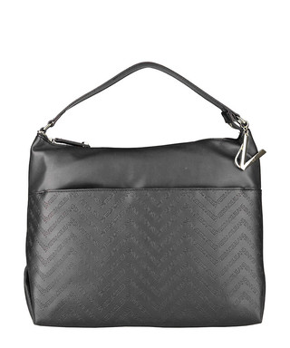 Dark grey leather chevron shoulder bag Sale - Versace Jeans Sale 86ff8c43ac06b