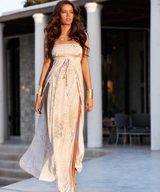 beb6d797f28 Melissa Odabash. Sian lizard print maxi dress
