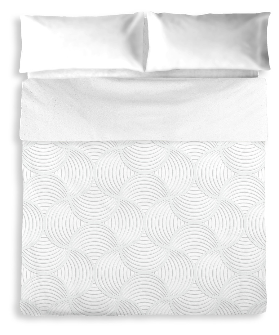 Daisy double grey cotton duvet set Sale - pure elegance