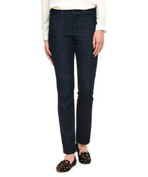 Alina dark blue cotton blend jeans
