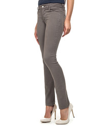 Alina light taupe cotton blend jeggings