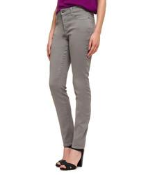 Alina l.grey cotton blend jean leggings