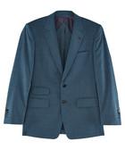 2pc Marsh blue pure wool suit