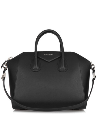 e22f647f32 Antigona black leather dual handle bag Sale - Givenchy Sale