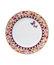 Image of Isabelle pink porcelain plate 26.5cm
