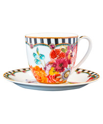 Image of Isabelle porcelain cup & saucer 150ml