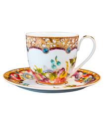 Image of Eliza porcelain cup & saucer 150ml