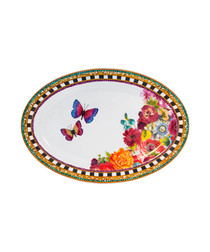 Image of Floral Madness porcelain plate 30.5cm