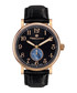Classique IP gold-tone leather watch Sale - mathieu legrand Sale