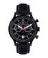 Orbite black leather watch Sale - mathieu legrand Sale