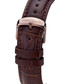 Orbite brown leather watch Sale - mathieu legrand Sale